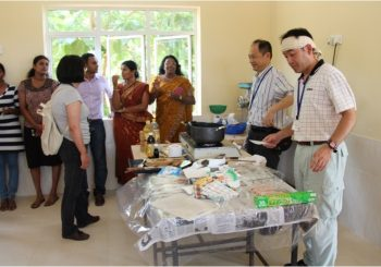 Workshops on Nutrition & Japanese Fish Processing Methods