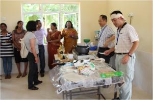 Workshops on Nutrition & Japanese Fish Processing Methods